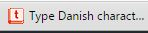 TypeDanish